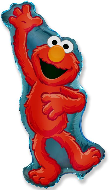 """33"""" Sesame Street Elmo Balloon"""