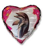 Dolphin Balloons Mylar Balloons