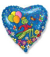 Grasshopper Balloons Mylar Balloons