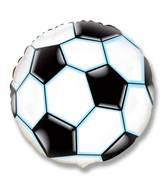 "18"" Soccer / Football Balloon Black"