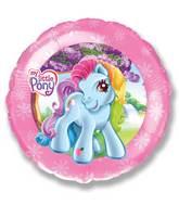 "18"" My Little Pony Pink Border"