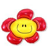 "41"" Red Flower"