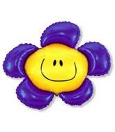 """41"""" Violet Flower"""