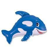 """32"""" Whale Blue"""