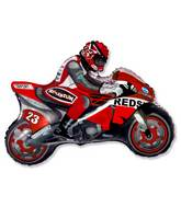 "36"" Moto Racing Bike Red"