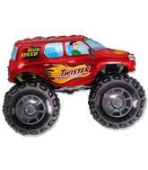 "30"" Big Wheels Monster Truck Red"