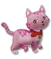 "36"" Sweet Cat Balloon Pink"