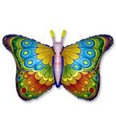 """35"""" Butterfly Coquette Fuchsia"""