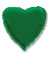 "2"" Airfill Only Green Heart"