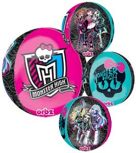 """16"""" Monster High Orbz Balloons"""