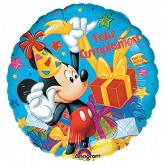 "18"" Mickey Feliz Cumpleanos Balloon"
