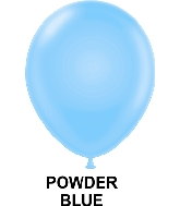"9"" Fashion Party Style Latex Balloons (100 CT) Powder Blue"
