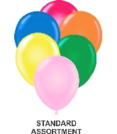 """11"""" Assorted Party Style Latex Balloons (100 CT) Prank"""