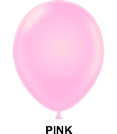 "9"" Standard Party Style Latex Balloons (100 CT) Pink"