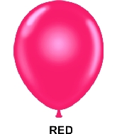 "9"" Standard Party Style Latex Balloons (100 CT) Red"