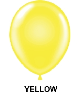 "9"" Standard Party Style Latex Balloons (100 CT) Yellow"