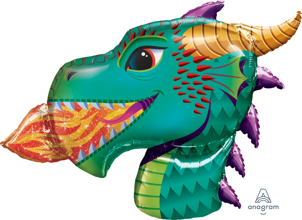 "25"" Dragon Foil Balloon"