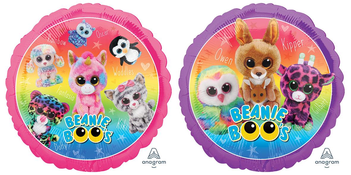 """18"""" Beanie Boos Foil Balloon"""