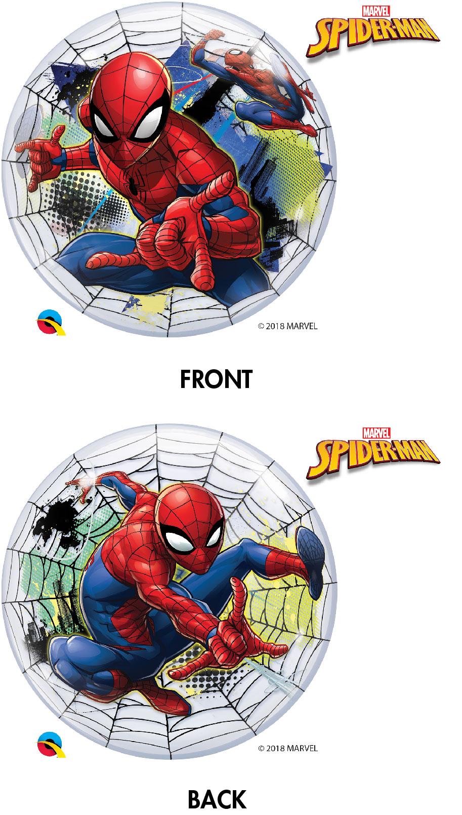 """22"""" Spiderman Bubble Balloon"""