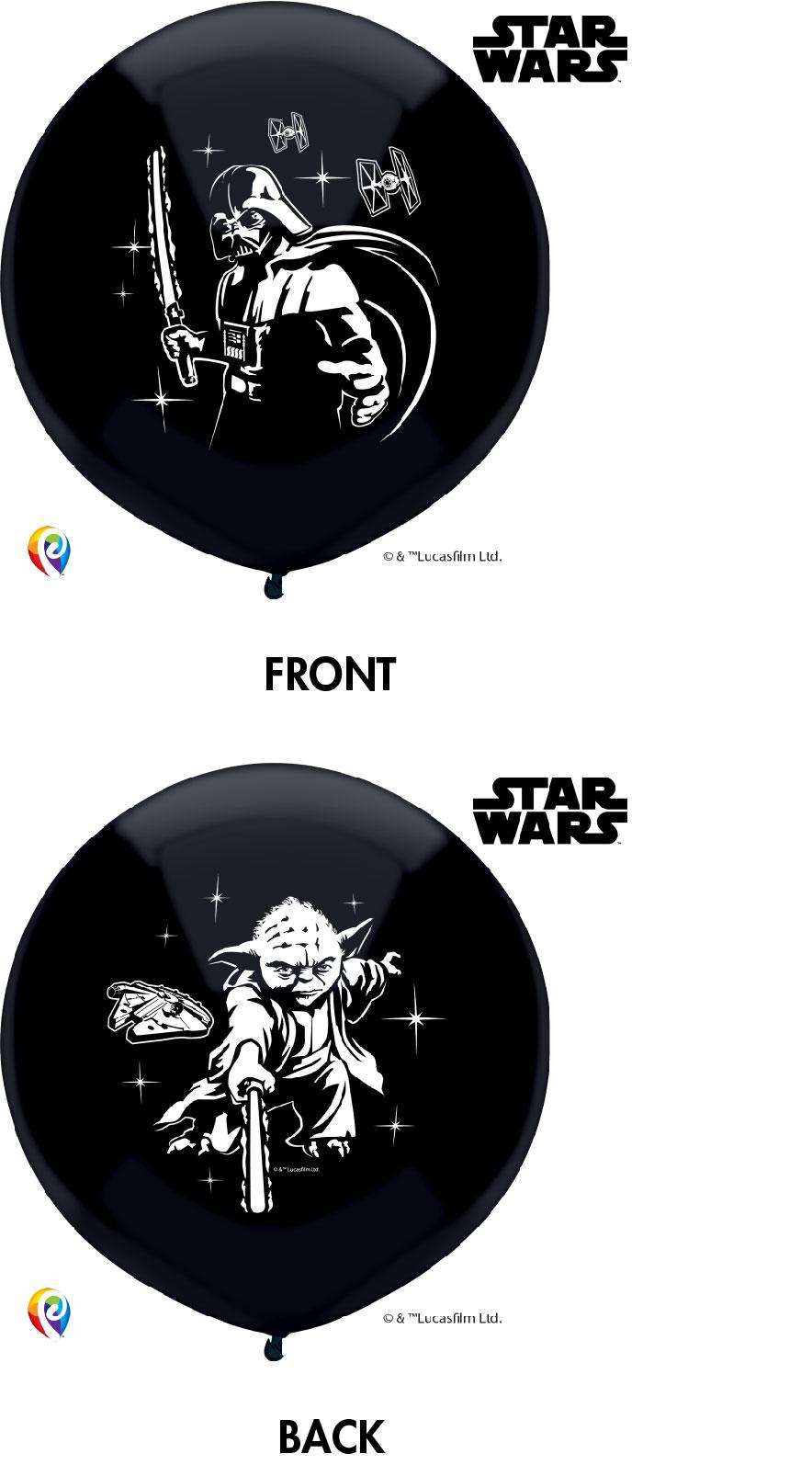 "17"" Star Wars Latex Balloons 3 Count"