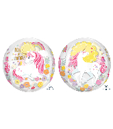 "16"" Orbz Magical Unicorn Foil Balloon"