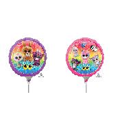"""9"""" Airfill Only Beanie Boos Foil Balloon"""