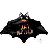 "18"" Halloween Batty Foil Balloon"