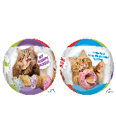 "16"" Orbz Avanti Cats Foil Balloon"