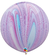 """30"""" Fashion Super Agate Latex Balloon (2 Count)"""