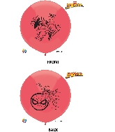 "17"" Spiderman Latex Balloons 3 Count"