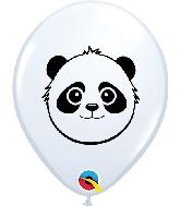 """5"""" Panda Bear Latex Balloons 100 Count"""