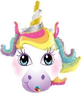"""14"""" Unicorn Airfill Only Balloon"""