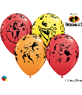 The Incredibles Mylar Balloons