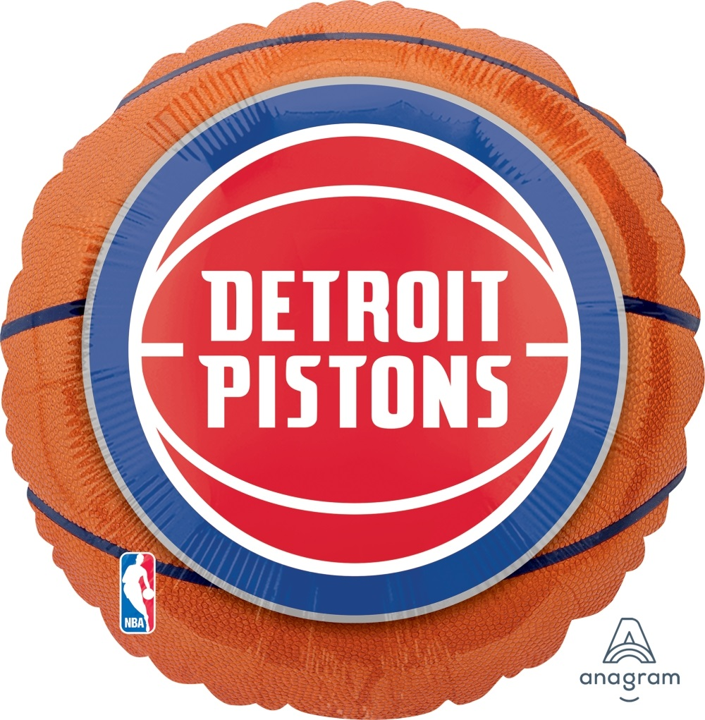 "18"" NBA Detroit Pistons Basketball"