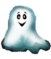"22"" Ghostie Foil Balloon"