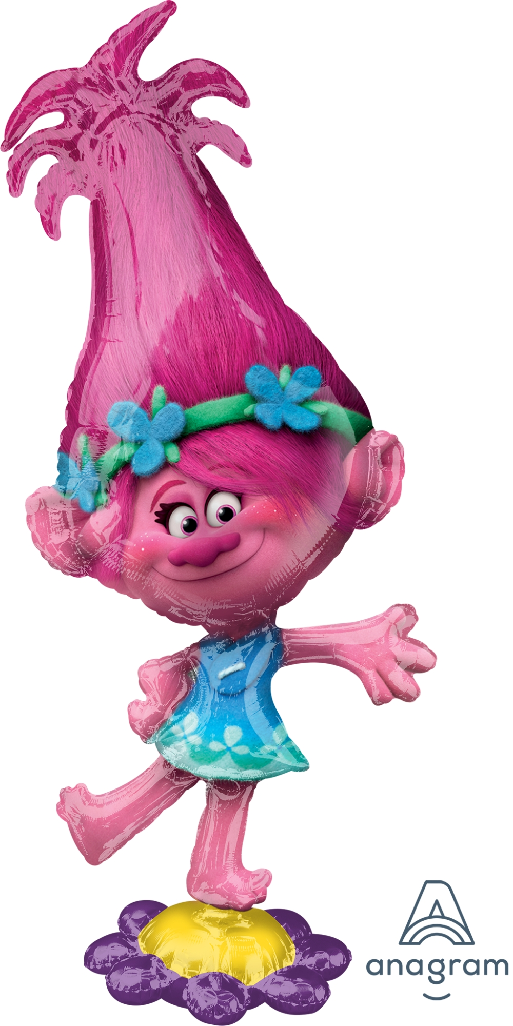 "58"" AirwalkerTrolls Poppy Balloon"