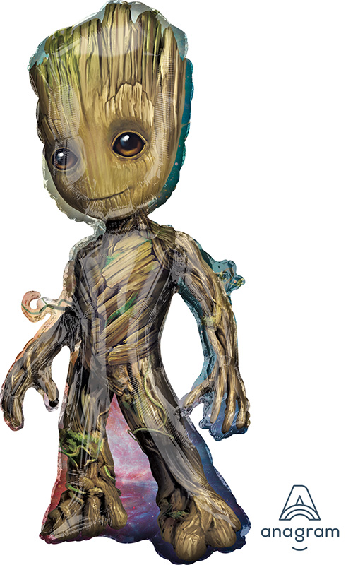 """40"""" Baby Groot SuperShape XL Foil Balloon"""