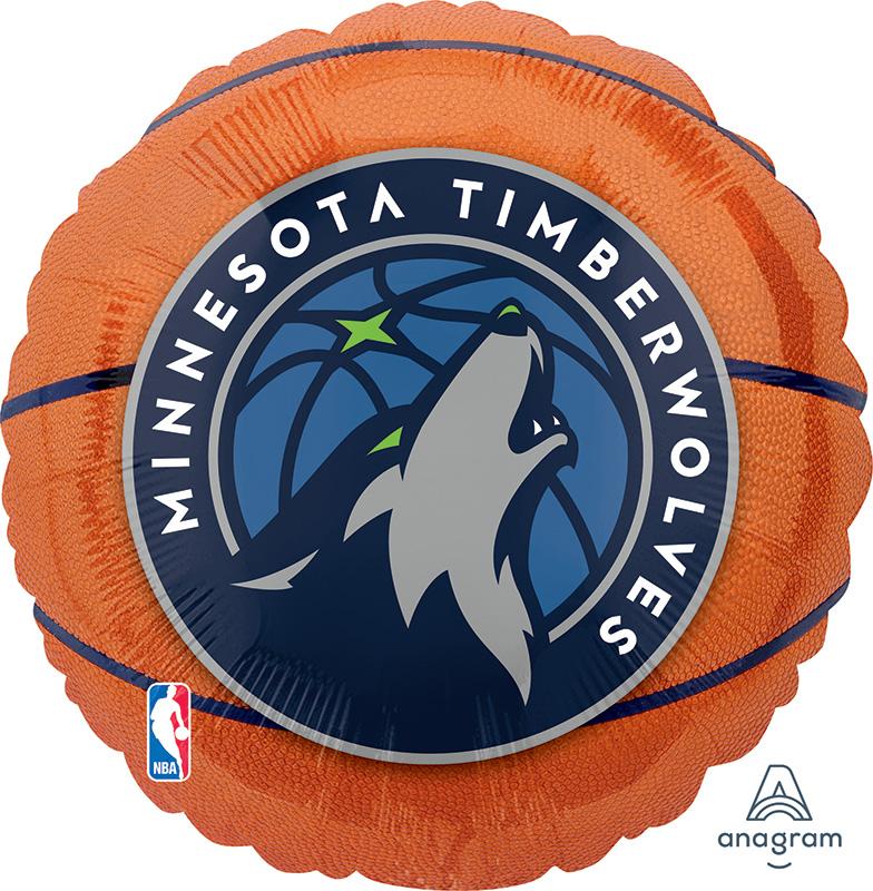 "18"" Minnesota Timberwolves Foil Balloon"