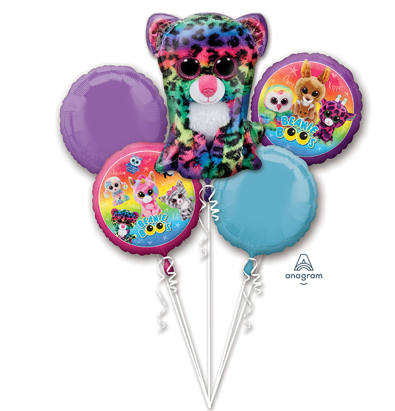 Bouquet Beanie Boos Foil Balloon 18'' - 36''