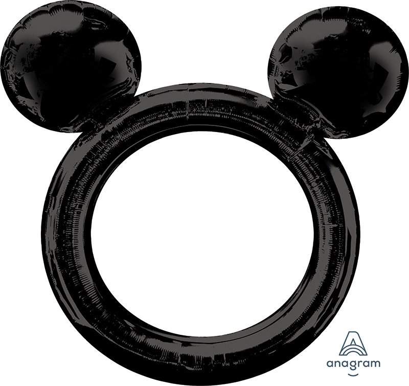 """27"""" Airfill Only Mickey Mouse Frame Foil Balloon"""