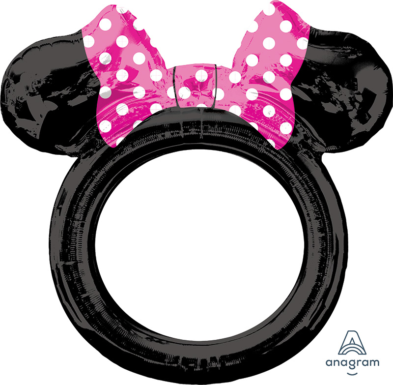 "29"" Airfill Only Minnie Mouse Frame Foil Balloon"