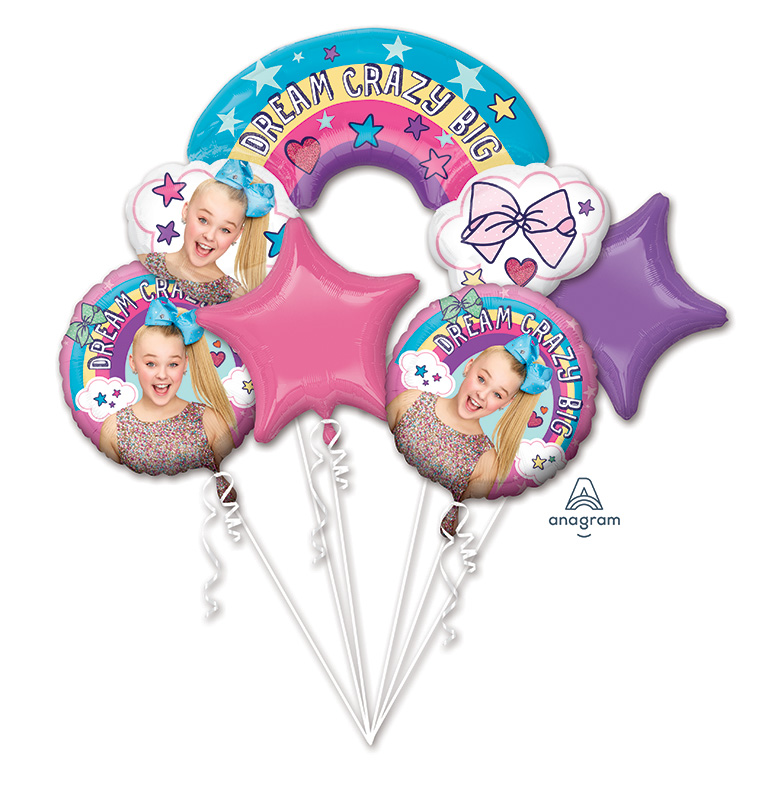 Bouquet JoJo Siwa Foil Balloon