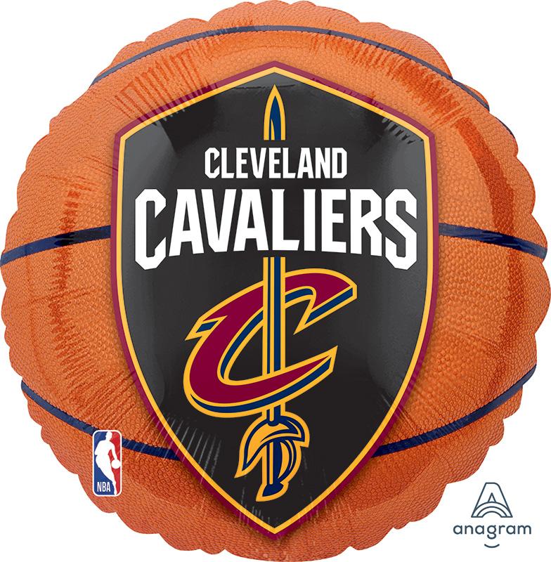 "18"" Cleveland Cavaliers Basketball Foil Balloon"