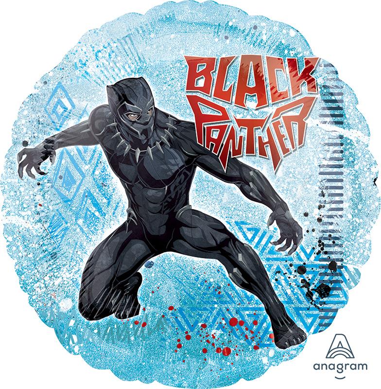 "18"" Black Panther Foil Balloon"