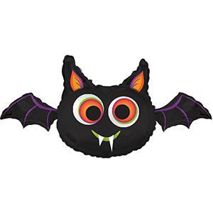 """32"""" Big-Eyed Bat Foil Balloon"""