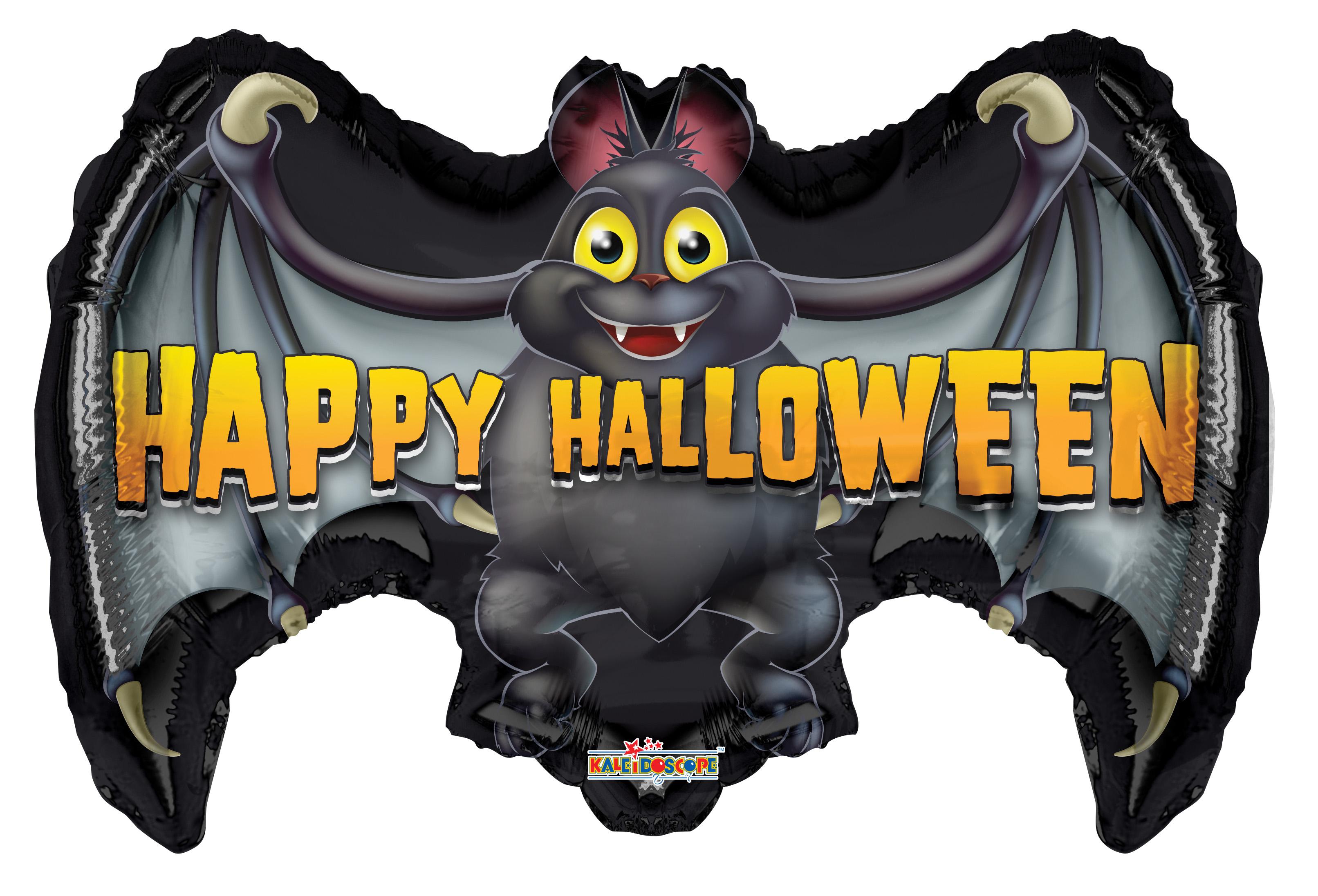 "24"" Halloween Bat Foil Balloon"