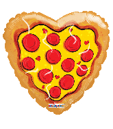 "18"" Love Pizza Foil Balloon"