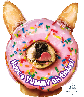 "25"" Jumbo Avanti Yummy Birthday Foil Balloon"