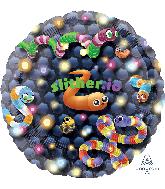 """32"""" Jumbo Slither.io Foil Balloon"""