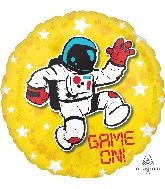 "18"" Epic Party Astronaut Foil Balloon"